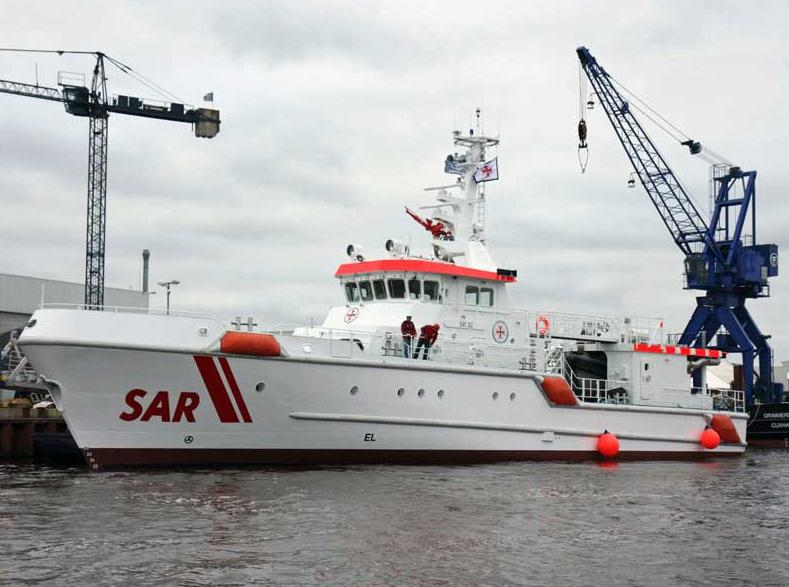 SK 32 hat Wasser unter dem Kiel