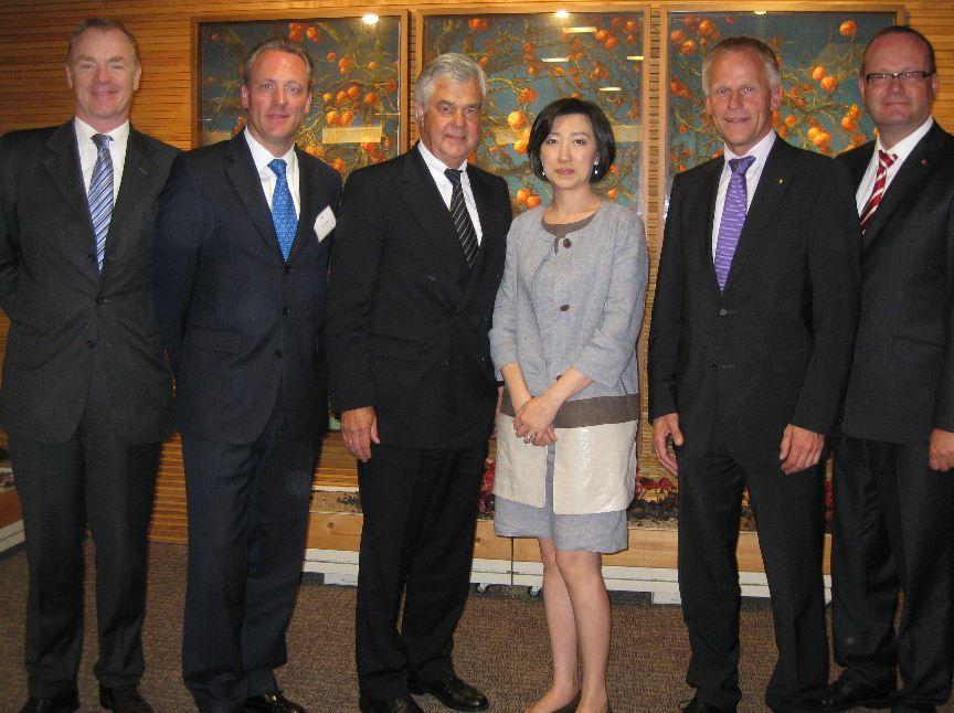 Erfolgreiche Delegationsreise von Wirtschaftssenator Frank Horch