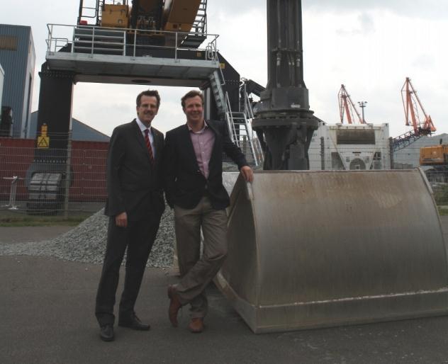 Brunsbüttel Ports verstärkt Flotte der Umschlaggeräte