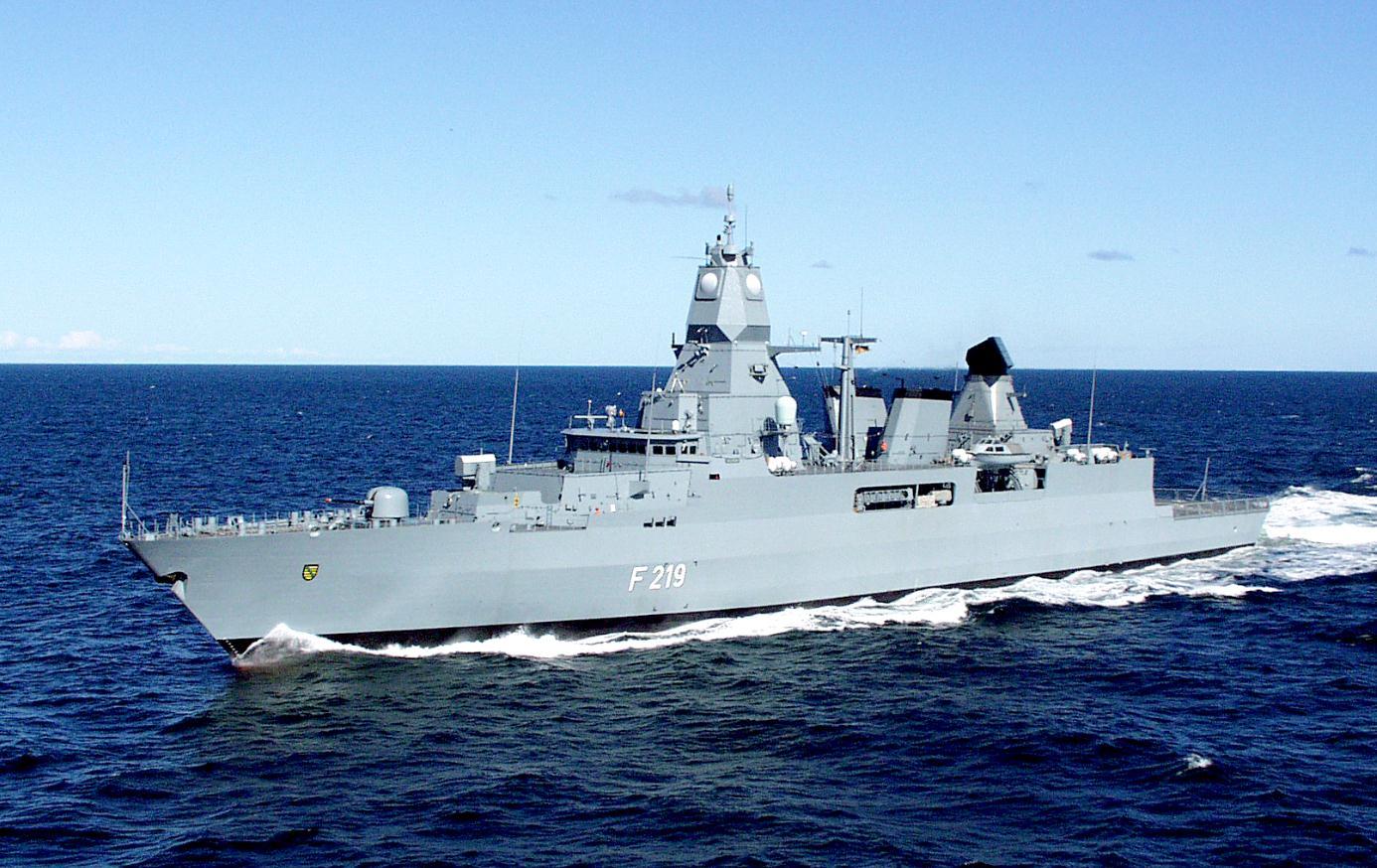 Fregatte Sachsen im Atalanta-Einsatz