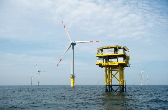 Ausbau von Windparks auf See beschleunigen
