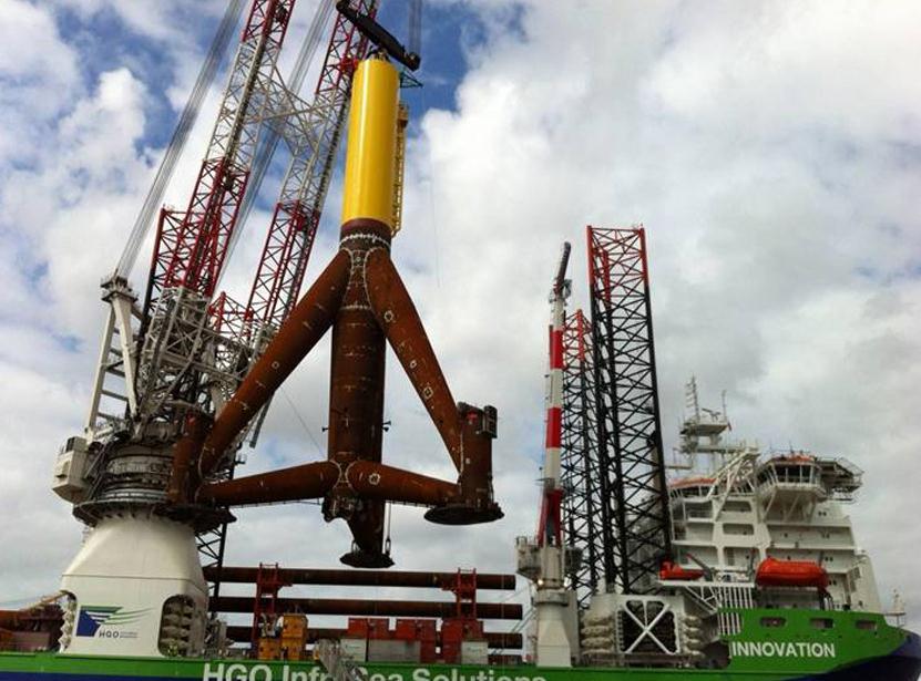 Pünktlicher Baubeginn von Windpark Global Tech I
