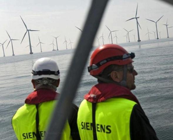 Vattenfall bestellt 80 Windturbinen bei Siemens