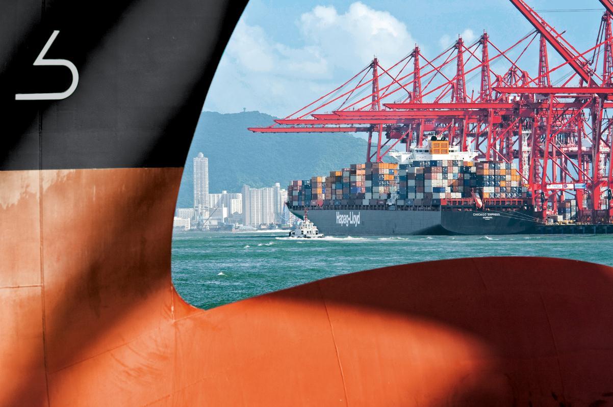 Moderne Schifffahrt kosteneffizient und umweltbewusst
